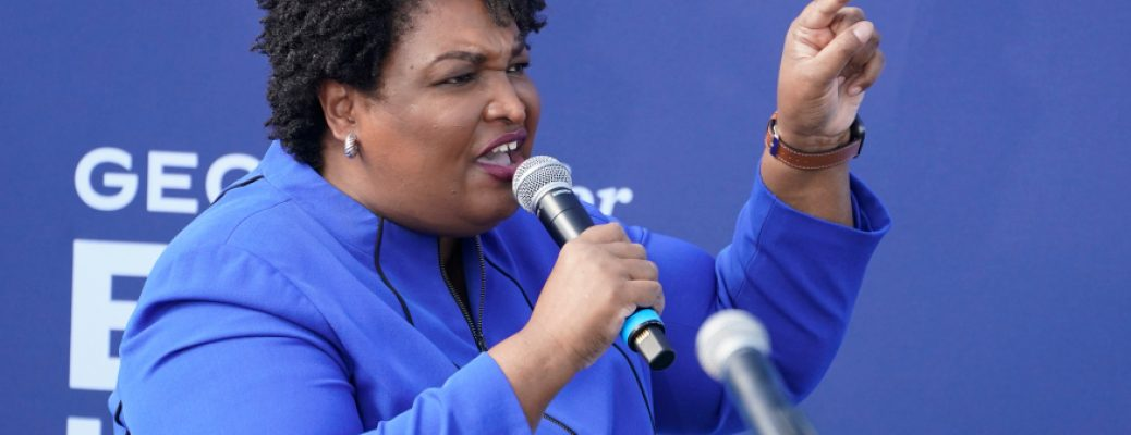 In this Nov. 1, 2020, file photo, former candidate for Georgia Governor Stacey Abrams speaks during a rally in Duluth, Ga. (AP Photo/John Bazemore, File)
